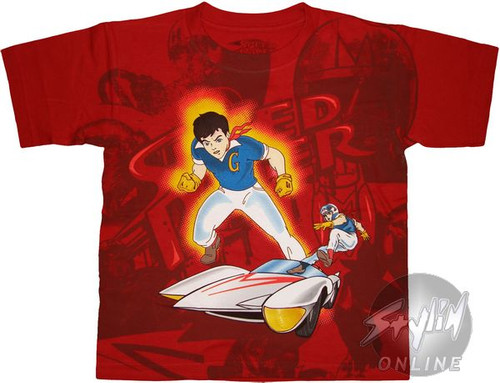 Speed Racer Mach 5 Juvenile T-Shirt