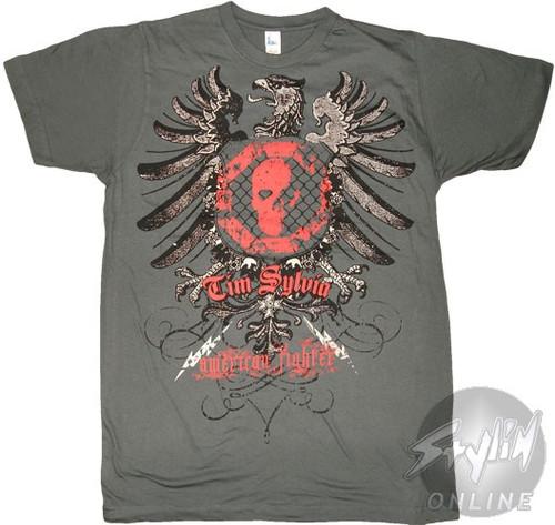 American Fighter Tim Sylvia T-Shirt Sheer