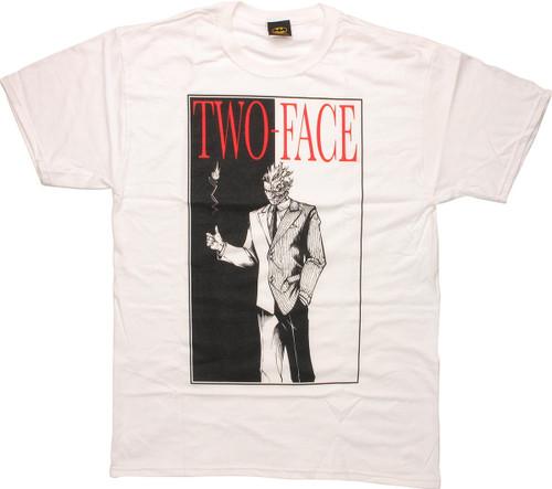 Batman Two Face Flip T-Shirt