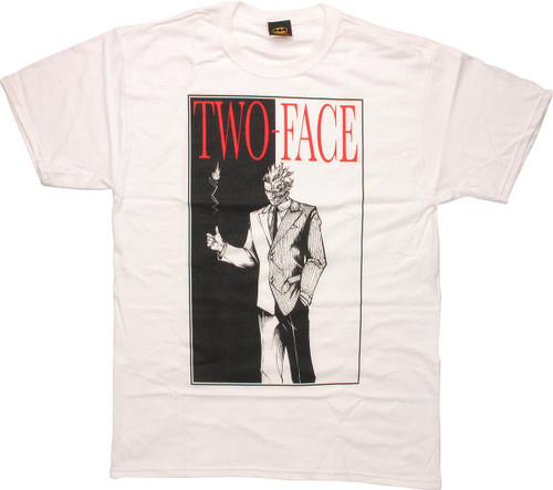 Batman Two Face Flip T-Shirt