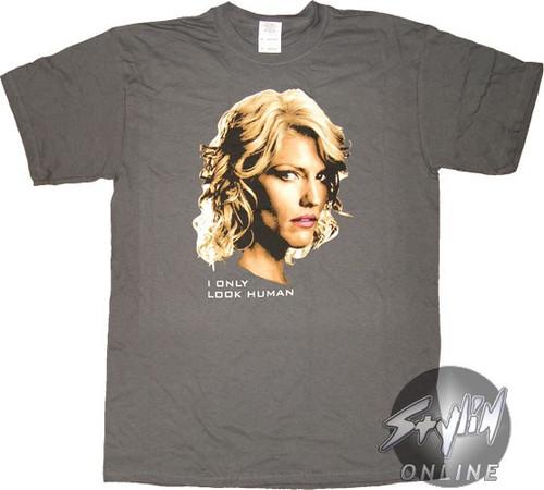 Battlestar Galactica I Look Human T-Shirt