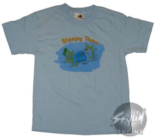Curious George Sleepy Youth T-Shirt