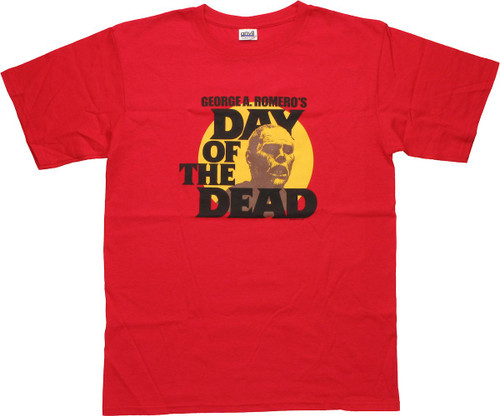 Day of the Dead Red T-Shirt