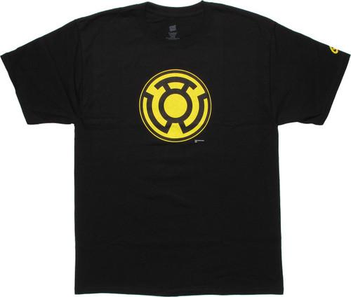 564e213a0 Green Lantern Sinestro Logo T-Shirt tsdccomicssomethingsomethingsomething