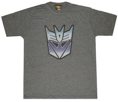 Transformers Decepticon Color Logo T-Shirt Sheer