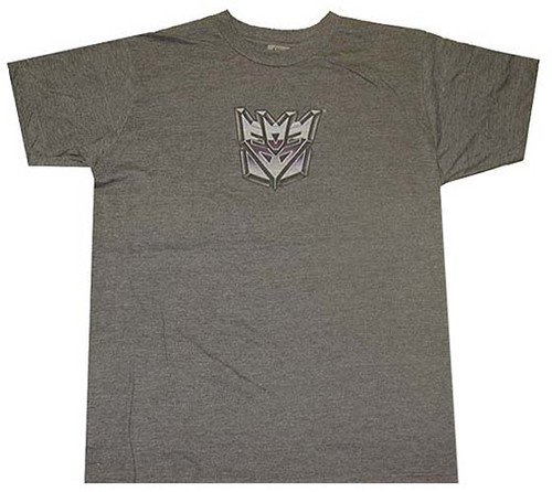 Transformers Decepticon Compact Logo T-Shirt Sheer