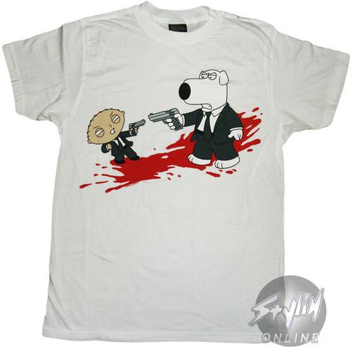 Family Guy Reservoir Dogs T-Shirt Sheer