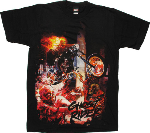 Marvel Zombies Ghost Rider T-Shirt