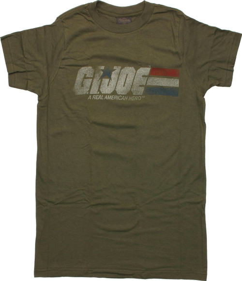 GI Joe Faded Logo T-Shirt Sheer