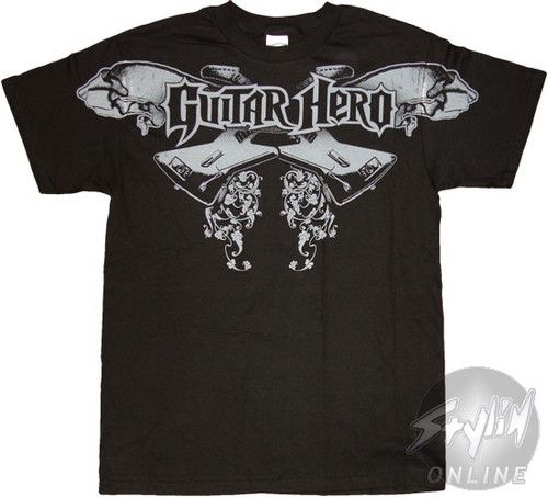Guitar Hero Crossed T-Shirt