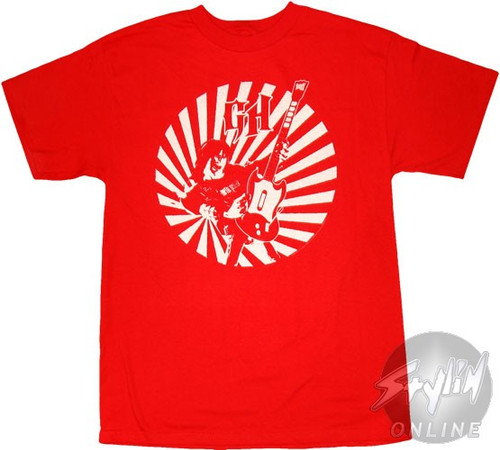 Guitar Hero Circle Burst T-Shirt