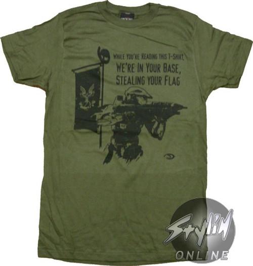 Halo 3 Steal Flag T-Shirt Sheer