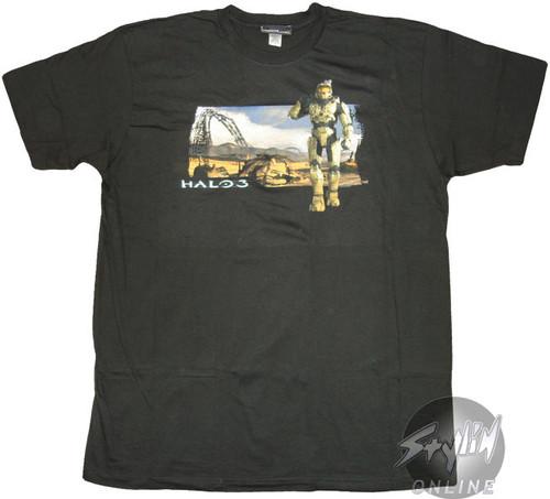 Halo 3 Scene T-Shirt Sheer