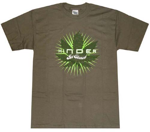 Hinder Get Stoned Leaf T-Shirt