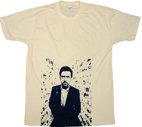 House Portrait T-Shirt Sheer