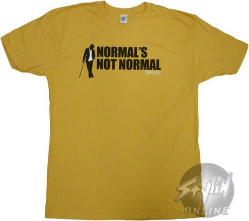 House Normal T-Shirt Sheer