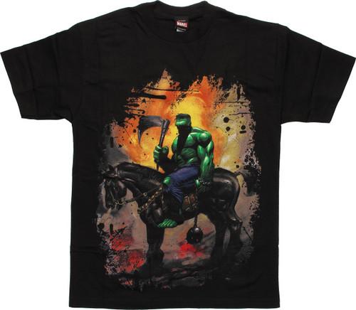 Incredible Hulk Horse T-Shirt