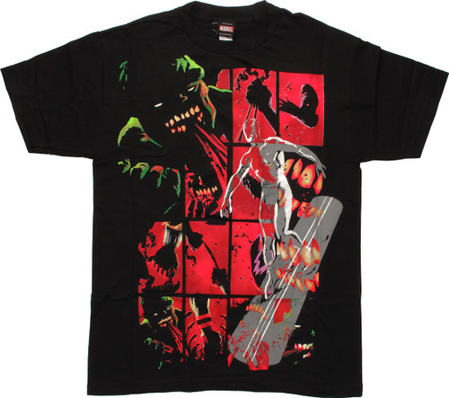 Marvel Zombies Hulk And Silver Surfer T-Shirt
