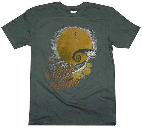 Nightmare Before Christmas Swirled T-Shirt Sheer
