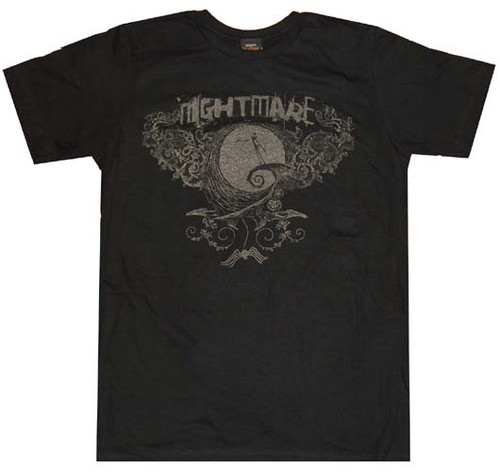 Nightmare Before Christmas Nightmare T-Shirt Sheer
