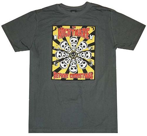 Nightmare Before Christmas Box T-Shirt Sheer