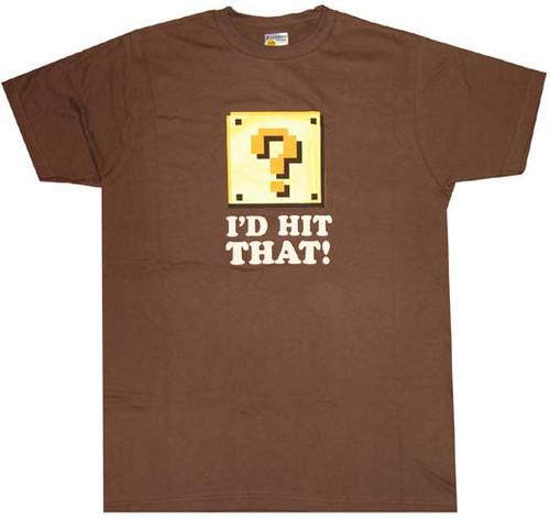 Nintendo Hit That T-Shirt Sheer