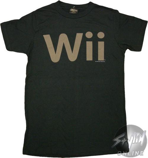 Nintendo Wii Logo T-Shirt Sheer