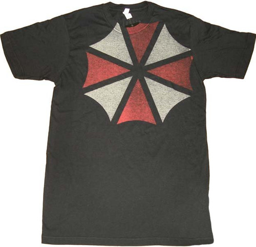 Umbrella Corporation Shoulder Logo T-Shirt