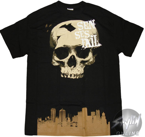 Senses Fail Skull T-Shirt