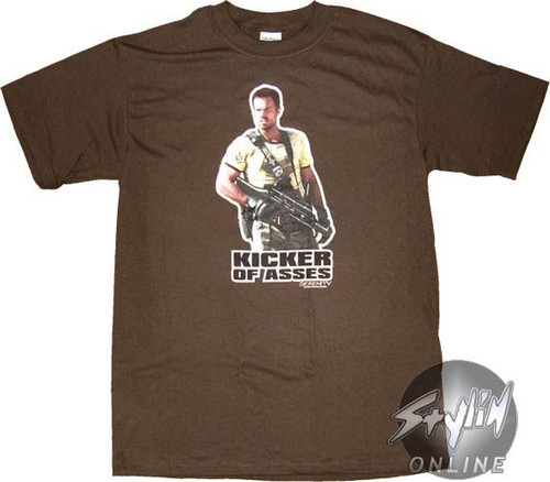 Serenity Kicker Of Asses T-Shirt
