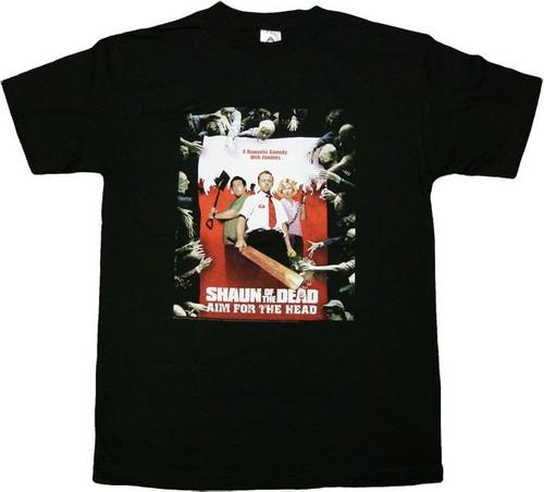Shaun of the Dead Aim Head T-Shirt