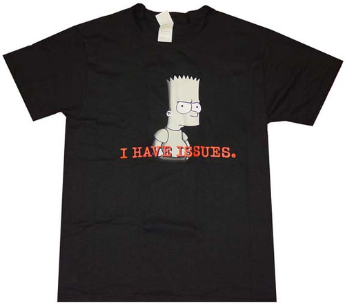 Simpsons Issues T-Shirt
