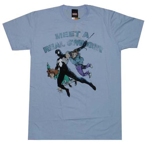 Spiderman Real Swinger T-Shirt Sheer