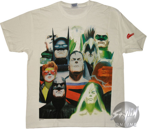 a3110e70 Justice League Kingdom Come Group T-Shirt tssupermankingdomcomegroup