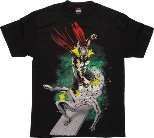 Marvel Zombies Thor And Silver Surfer T-Shirt