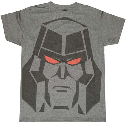 Transformers Megatron Head T-Shirt Sheer