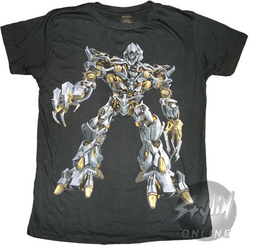 Transformers Megatron Movie T-Shirt Sheer