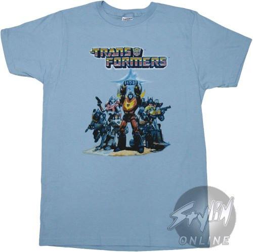 Transformers Rodimus Poster T-Shirt Sheer