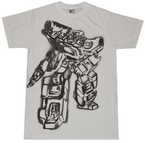 Transformers Soundwave T-Shirt Sheer