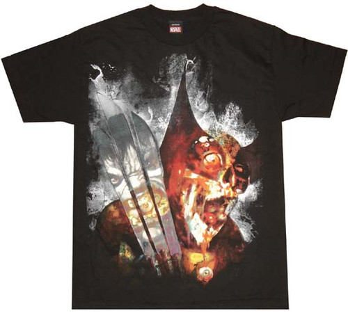 Marvel Zombies Wolverine T-Shirt