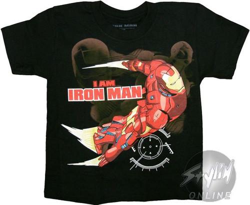 Iron Man I Am Juvenile T-Shirt