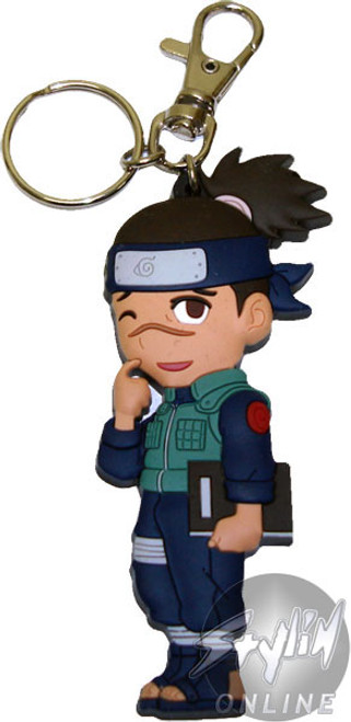Naruto Iruka Keychain