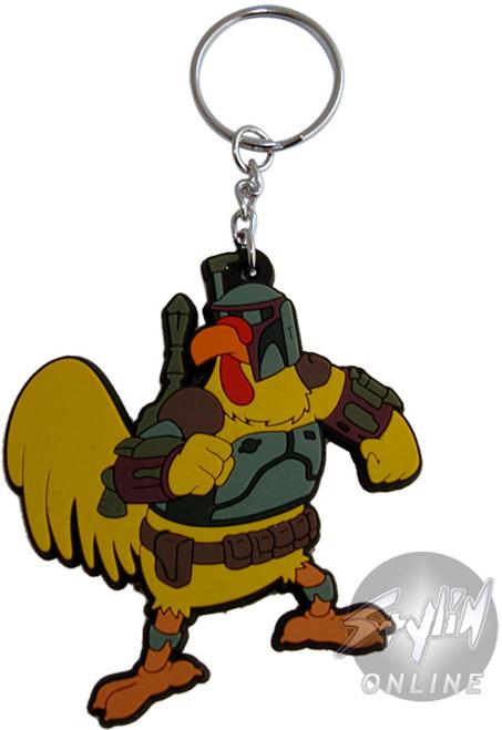 Family Guy Chicken Fett Keychain