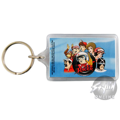 Speed Racer Faces Keychain
