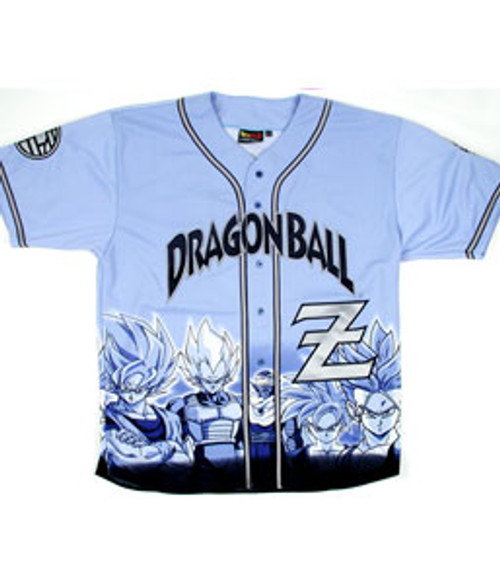 Dragon Ball Z Youth Baseball Jersey