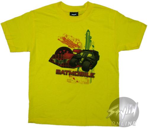 Batman Batmobile Youth T-Shirt