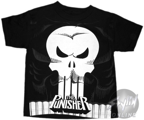 Punisher Costume Youth T-Shirt