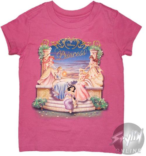 Disney Princess Group Youth T-Shirt