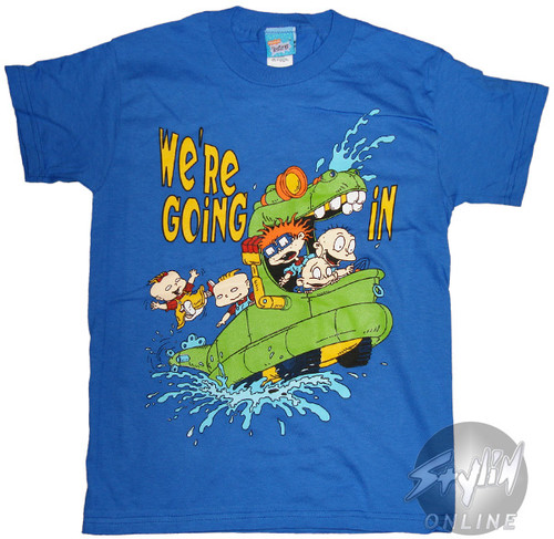 Rugrats Going In Youth T-Shirt