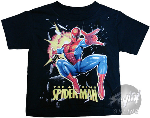 Spiderman Amazing Point Youth T-Shirt